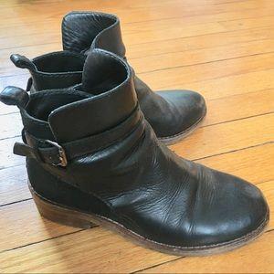 Acne Clover Boots. Black. 36/6.